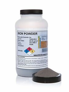 500g Iron metal powder - high purity / top grade