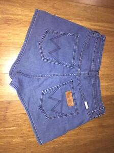 Wrangler 'Hi Cheeky' shorts size 10 Windella Maitland Area Preview