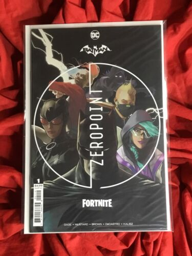 BATMAN FORTNITE ZERO POINT #1~2nd PRINT VARIANT~FACTORY SEALED w/ CODE~DC