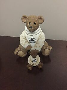 Colorado Avalanche Teddy Bear Piggy Bank