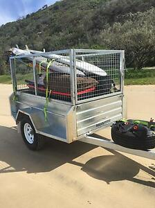 NEW OFF-ROAD 7x4 CAMPING WORK TRAILERS Newcastle Newcastle Area Preview
