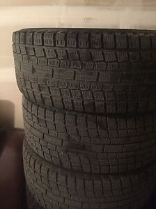 Set of winter tires and rims. Strathcona County Edmonton Area image 2