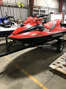 Seadoo's and seadoo boat for sale  ready to go.