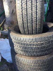4 winter tires used only 1 season