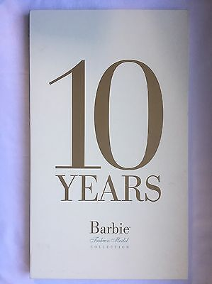 10 Years of Barbie Silkstone Fashion Model Collection Book by Mattel