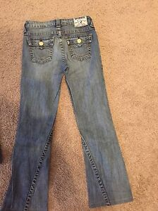 Girls True Religion Jeans size 10 and 12  Strathcona County Edmonton Area image 4