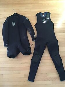 O'Neil 2 piece wetsuit (medium)