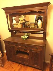 Antique dresser oak Willoughby Willoughby Area Preview