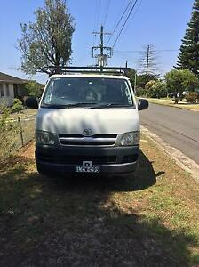 Toyota hiace  2005  15,000 negotiable Cabramatta West Fairfield Area Preview
