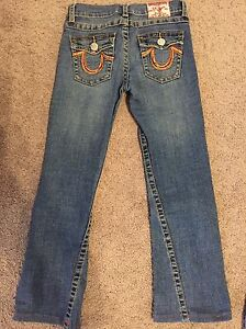 Girls True Religion Jeans size 10 and 12  Strathcona County Edmonton Area image 2