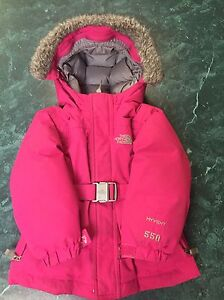 Girls 2t north face jacket