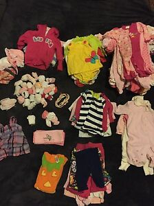 Baby Girl Clothes Lot 0-6 Months