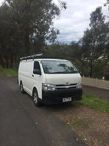 2011 Toyota hiace LOW KMs Greensborough Banyule Area Preview
