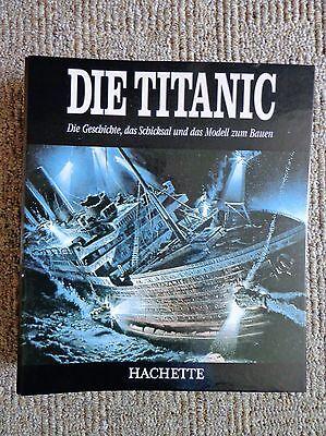 MODELLBAU-TITANIC - angefangener Bausatz  (Titanic Holz Modell)
