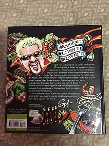 Guy Fieri Cook Book.. awesome illustrations!! Cambridge Kitchener Area image 2