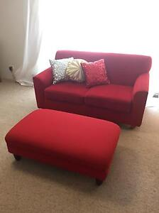Couch  & ottoman in great condition Waitara Hornsby Area Preview