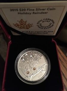 2015 Holiday Reindeer Coin