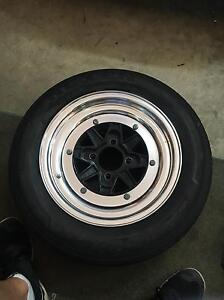 Ssr mk3 3 piece wheels 13x6 +11 4x100 Liverpool Liverpool Area Preview