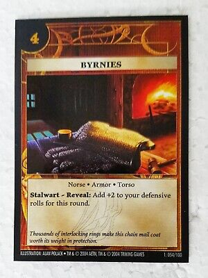 Byrnies, Anachronism Card Game, foil, excellent