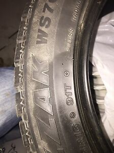 4 Bridgestone Blizzak 205/55R16 Peterborough Peterborough Area image 3