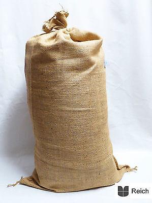 10 JUTE SACKS grain grain sacks 50 kg capacity 60 x 105 cm NEW