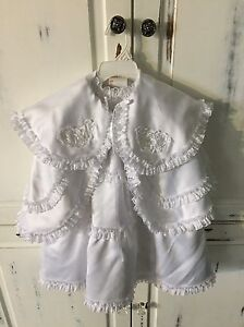 Christening gown size 6 month (16 lbs) Cornwall Ontario image 3