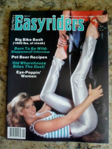 January, 1981 Issue of Easyriders Magazine...Deadwood Brothel....Nice!
