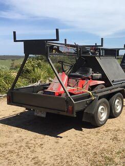 tandem builders trailer McCrae Mornington Peninsula Preview