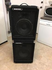 Pair of vintage PA speakers Mount Gravatt East Brisbane South East Preview