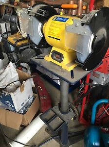Power Fist Bench Grinder and stand $95 obo Edmonton Edmonton Area image 2