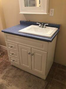 Vanity + Sink + Taps
