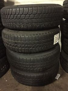 4 winter Pirelli 175/65/15 on rims 4x100  Kitchener / Waterloo Kitchener Area image 5