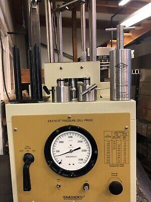 Aminco French Pressure Cell Press Disrupter Fa-078 Fa-030