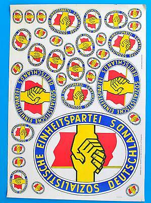 DDR Plakat Poster 1431 | SED DEWAG Halle 1974 Honecker | 85 x 61 cm Original