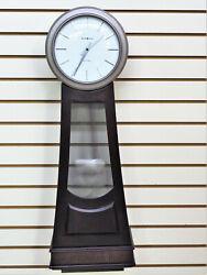 NEW HOWARD MILLER DUAL CHIME  BANJO WALL CLOCK