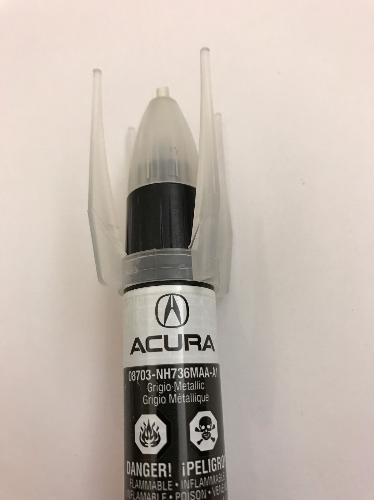 GENUINE OEM HONDA Acura Touch Up Paint NHM Grigio Metallic - Acura touch up paint