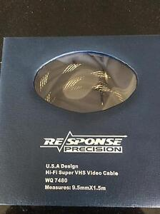 Super VHS SVHS Response Precision Video Cable 1.5m Lara Outer Geelong Preview