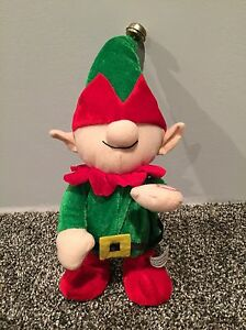Elf Singing Animated Toy