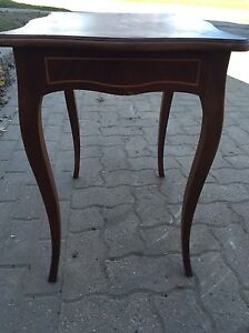 Decorative all wood side or end table Kitchener / Waterloo Kitchener Area image 4