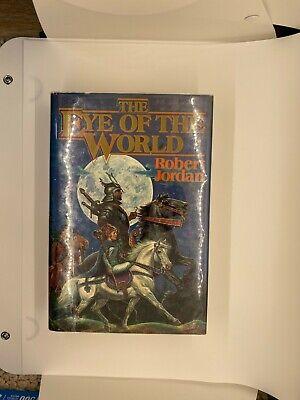 True US First Edition Printing The Eye of the World Robert Jordan HCDJ