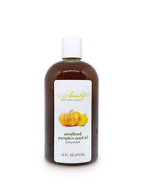 (PUMPKIN SEED OIL UNREFINED ORGANIC CARRIER COLD PRESSED VIRGIN RAW PURE )