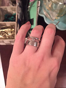 Costume silver ring