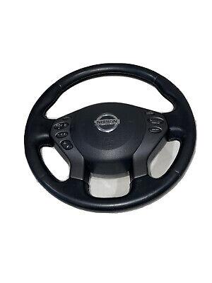 2010 2011 2012 Nissan Altima Steering Wheel W/Bag W/Navi Black OEM 48430-ZX00A