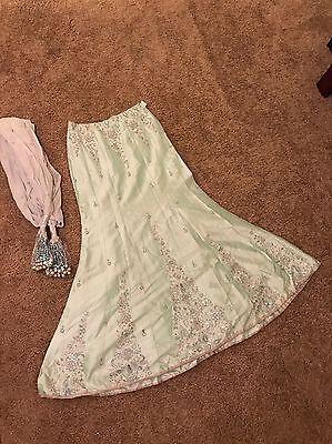 Women's Lengha Skirt And Dupatta