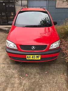 Holden Zafira 2.2 Z22SE 7 Seater Tenambit Maitland Area Preview