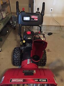 """Craftsman Snowblower 27"""" clearing width  13.5 TP"""