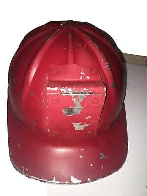 1959 Vintage Aluminum Construction Hard Hat