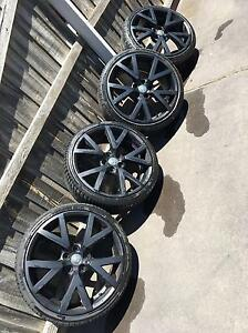 GENUINE STAGGERED VE GTS WHEELS Geelong Geelong City Preview