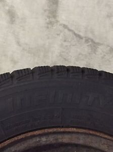 WINTER TIRE ON RIMS FOR SALE - 185/65R14 Cambridge Kitchener Area image 9