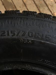 Full set of Cooper Winter Tires ($60 for all 4) (no rims) Kitchener / Waterloo Kitchener Area image 5
